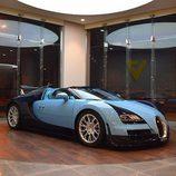 Parrilla cromada del Bugatti Veyron Jean-Pierre