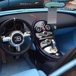 Volante de cuero de un Bugatti Veyron