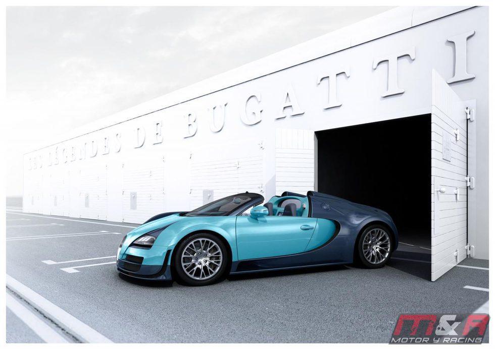 Edición limitada Jean-Pierre Wimille del Veyron