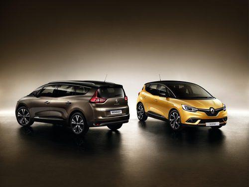 Dos unidades del Renault Grand Scenic 2016