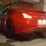 Alerón trasero rojo del Nissan Nismo 2016