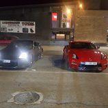 Luces del Nissan 350Z junto a un 370Z Nismo