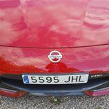Capó y matrícula del Nissan 370Z Nismo V6