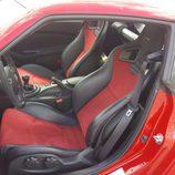 Ajuste manual de los asientos Recaro del Nismo 370Z