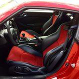 Dos asientos recaro de piel del Nissan 370Z 2016
