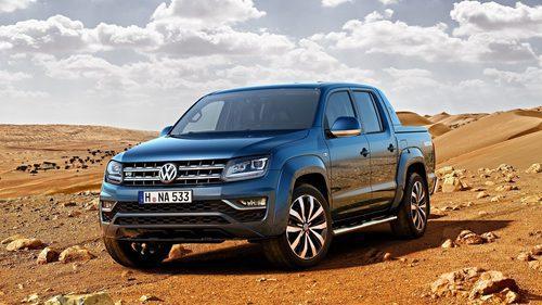 Parrilla cromada del Volkswagen Amarok 2016