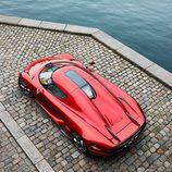 Motor V8 híbrido del Koenigsegg Regera