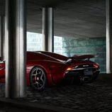 Llantas del Regera V8 Hybrid