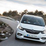 Frontal del nuevo Opel Zafira 2017
