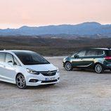 Dos Opel Zafira 2017 nuevos