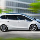 Sección lateral del nuevo Opel Zafira 2017