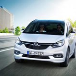 Carrocería blanca del nuevo monovolumen de Opel 2017