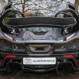 Escape posterior del McLaren P1