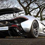 Difusor de carbono del McLaren P1
