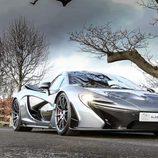 Capó del nuevo McLaren P1 V8