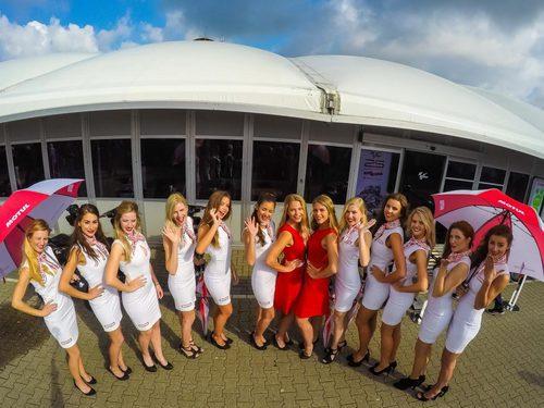 Paddock Girls GP Holanda 2016 - Motul frente