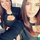 Monster Girl Marta Aranda selfie con Grace Barroso