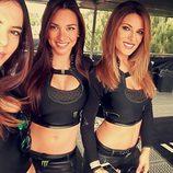 Monster Girl Marta Aranda selfie con Grace Barroso y Barbara Amerigo