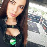 Monster Girl Marta Aranda en MXGP