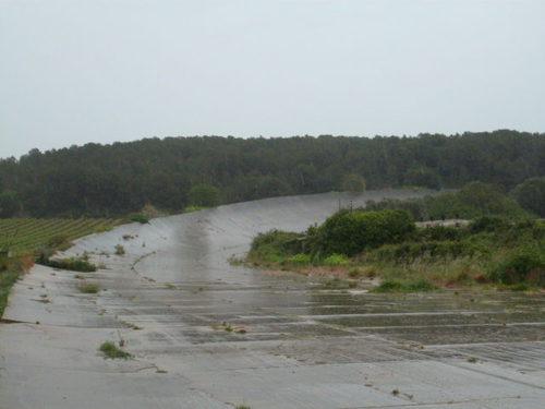 Autódromo de Terramar - 90 grados peralte norte