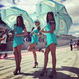 Paddock Girls del GP de Austria 2016 - leopard racing