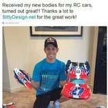 Aventuras Casey Stoner - coches rc