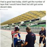 Aventuras Casey Stoner - piloto probador de Honda HRC