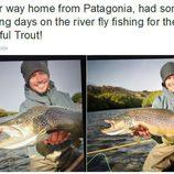 Aventuras Casey Stoner - pescando en Argentina