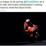 Aventuras Casey Stoner - piloto probador de Ducati