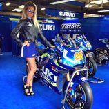 Paddock Girls del GP de Gran Bretaña 2016 - suzuki