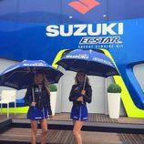 Paddock Girls del GP de Gran Bretaña 2016 - Suzuki Ecstar