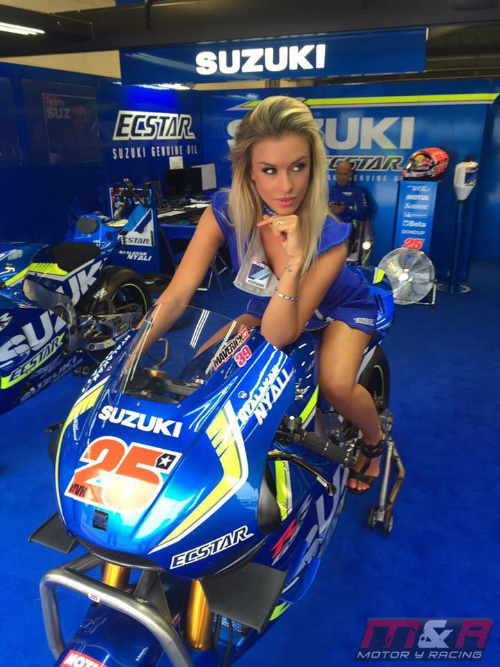 Paddock Girls del GP de Gran Bretaña 2016 - Paola Michelle