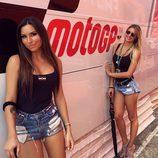 Paddock Girls del GP de San Marino 2016 - Stefania Ortelli y Francesca Brambilla MotoGP
