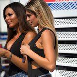 Paddock Girls del GP de San Marino 2016 - Stefania Ortelli y Francesca Brambilla perfil