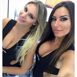 Paddock Girls del GP de San Marino 2016 - Stefania Ortelli y Francesca Brambilla Instagram