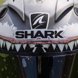 El casco tiburón de Jorge Lorenzo - Logo Shark