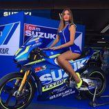 Paddock Girls del GP de Aragón 2016 - Suzuki Ecstar Team