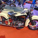 Autoretro Barcelona 2016 - Harley Davidson sidecar