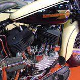 Autoretro Barcelona 2016 - Harley Davidson sidecar motor