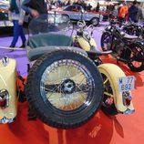 Autoretro Barcelona 2016 - Harley Davidson sidecar trasera