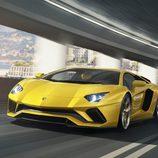 Lamborghini Aventador S - LEDs