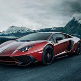 Lamborghini Aventador SV - rojo