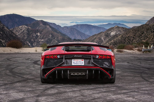 Lamborghini Aventador SV - difusor