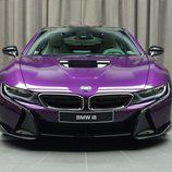 BMW i8 morado - branquias