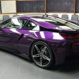 BMW i8 morado - 2016