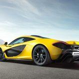 McLaren p1 - llantas negras