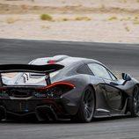 McLaren P1 negro - alerón
