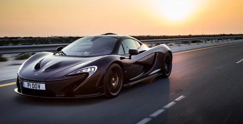McLaren P1 - salidas de aire