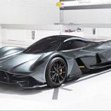 Aston Martin AM-RB 001 - Rueda