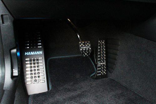 Hamann M2 - pedales
